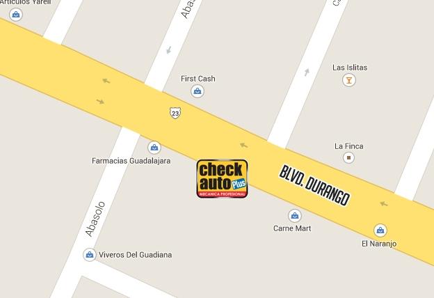 mapa check